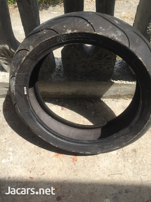 Used motorcycle tires-4