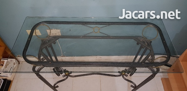 Glass Top Table-1