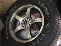 Tyre and rims 225/75R/16