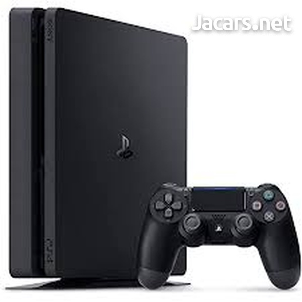 1 TB PS4 Slim- 2 Controllers- Good Condition-1