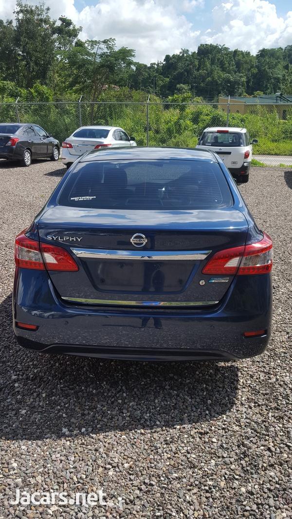 Nissan Sylphy 1,5L 2014-12