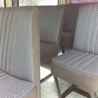 CUSTOM MADE BUS SEATS FOR TOYOTA HIACE AND NISSAN CARRAVAN.