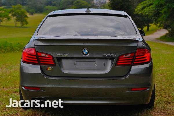 BMW 5-Series 2,0L 2014-5