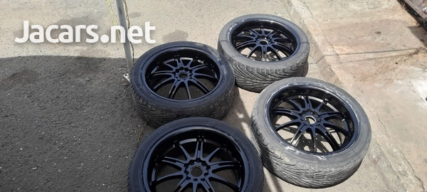 18 inch rims and tyres 245/40/18-4
