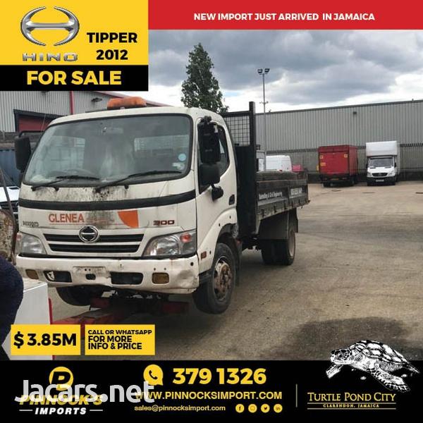 Hino Tipper Truck 2012-1