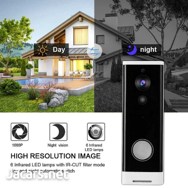 WiFi Doorbell Alarm System Intelligent Wireless-1