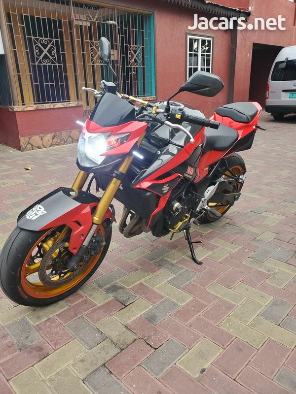 2015 suzuki gsx 750s Bike-3