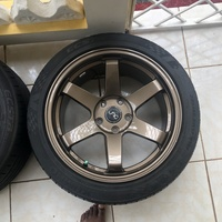 JNC 17s and tyre