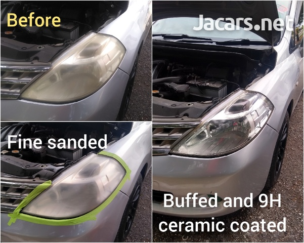 9H ceramic coating head lamp restoration-6