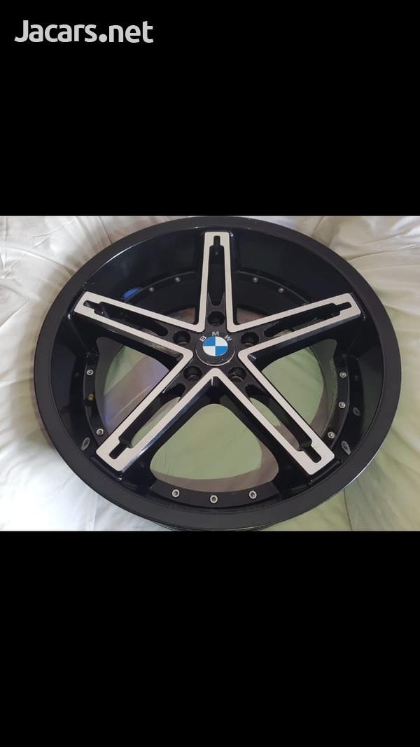 20 Inch Bmw Rims 5 lugs-6
