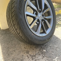 Stock Honda Rims and Tires 16in - only used for 3 days