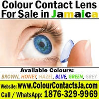 Get your Coloured Contact lens Today in jamaica