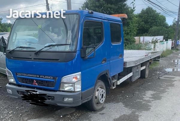 Mitsubishi Canter twin Cab Tilt n Slide Wrecker-5