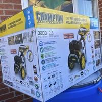 Champion 3200 power wash