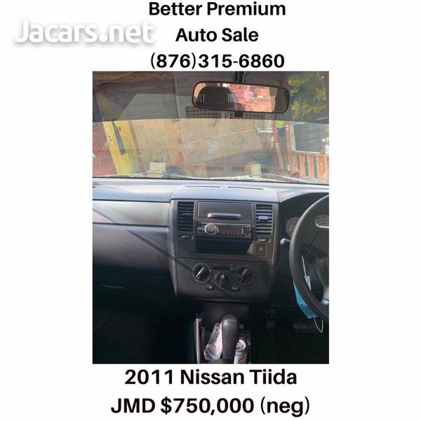 Nissan Tiida 1,6L 2011-7