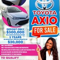 Toyota Axio 3,6L 2014