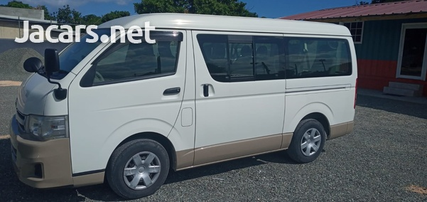 2013 Toyota Hiace GL Bus-5