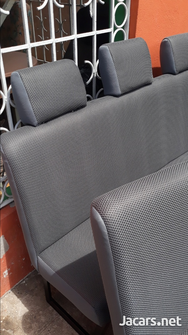 BUS SEATS WITH COMFORT AND STYLE.WE BUILD AND INSTALL.CONTACT 8762921460-1