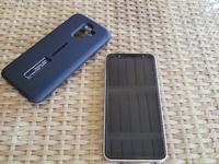 Samsung Galaxy J8 32gb with a 32gb SD card Dual Sim
