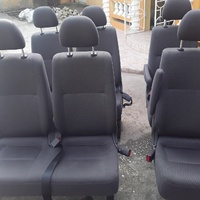 ONE SET OF TOYOTA HIACE SEATS WITH HEADREST.FOLDING SEATS.876 3621268
