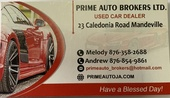 Prime Auto Brokers Ltd