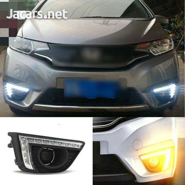 Daytime running lights/fog lights for Honda Fit 2014-2017-1