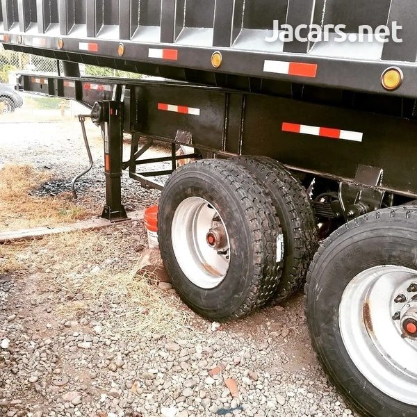 2012 Tipping Trailer 25ft steel body-8