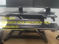 FLEXISPOT Stand Up Desk Converter -35 inch standing Desk Riser