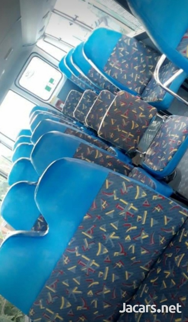 HAVE YOUR BUS FULLY SEATED WITH FOUR ROWS OF SEATS.CONTACT 8762921460-11